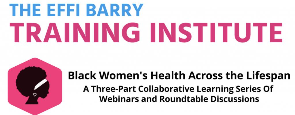 Effi Barry Training Institute Banner
